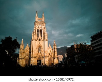 Plaza lourdes in Chapinero centro Bogota