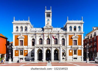 Plaza Mayor (Major Square) of Valladolid, Spain