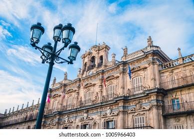 Plaza Mayor of Salamanca, Castilla y Leon, Spain