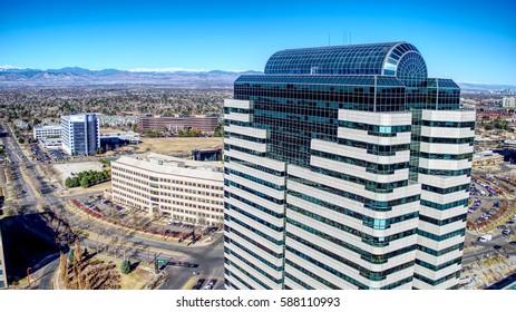 Plaza Tower One Daylight Horizon Denver Tech Center