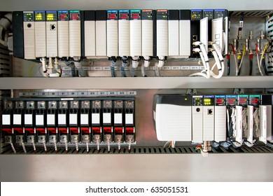 Der PLC Computer, PLC programmierbare Logiksteuergerät für Steuergerät oder Prozess durch Scada System.