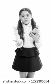 Please one more call. Schoolgirl ask permission to use mobile phone in school. Banned in school. Girl pupil school uniform sad begging permission use mobile phone smartphone. School rules concept.