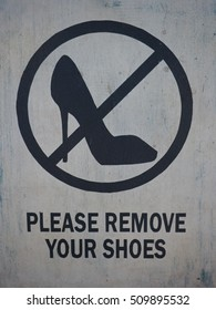 Please Remove Your Shoes Images Stock Photos Amp Vectors