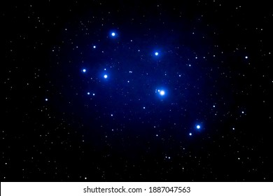 pleiades stars in the sky