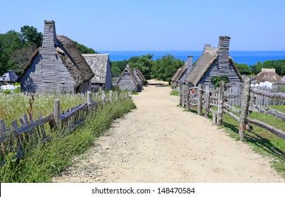 Plimoth plantation at Plymouth, MA