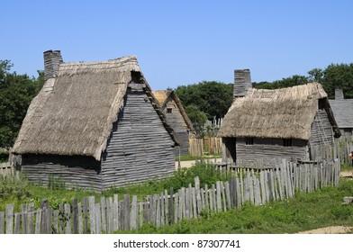 Plimoth Plantation, Plymouth, Massachusetts, USA