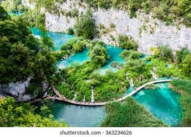Plitvice Lakes, Croatia, Europe.