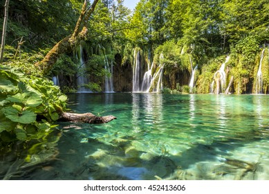 Plitvice Lakes, Croatia Waterfall