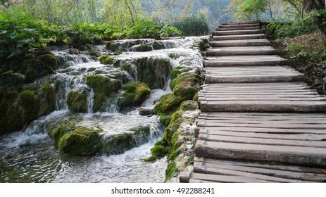 Plitvice lakes national Park Croatia September 2016