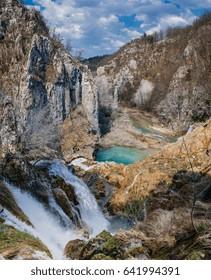 Plitvice Lakes National Park .Croatia