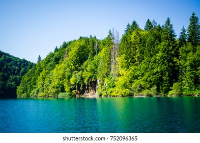 plitvice lakes national park landscape