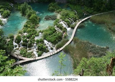 Plitvice lakes Paradise