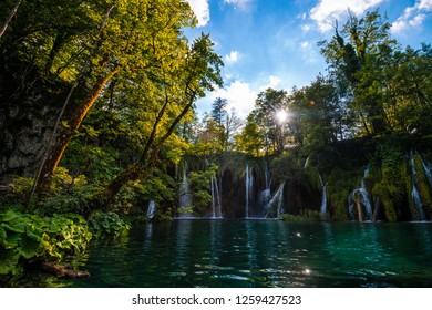 plitvice lakes waterfalls and nature