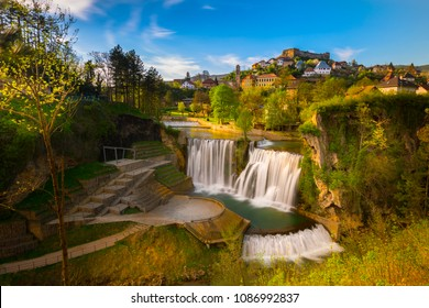 Pliva Waterfall, Jajce, Bosnia and Herzegovina