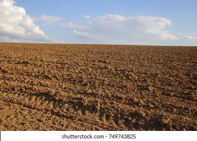plowed land ready for planting