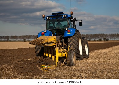 Plowing Tractor