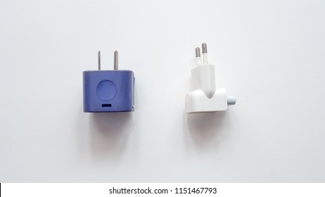 Plug Adapter Charger isolated on white background