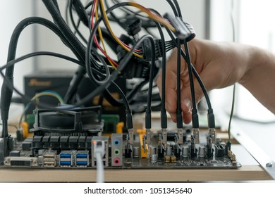 Plugging in PCI Express Extender