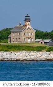 Plum Island Light is located on the western end of Plum Island in Long Island Sound in the US state of New York. Built in 1869, it was added to the National Register of Historic Places in 2011.