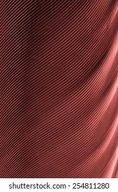 plumage background of bird closeup, Marsala color tone
