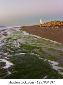 The Plumb Point Lighthouse at sunrise