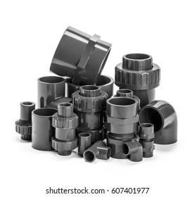 Plumber tube for water isolated on a white background