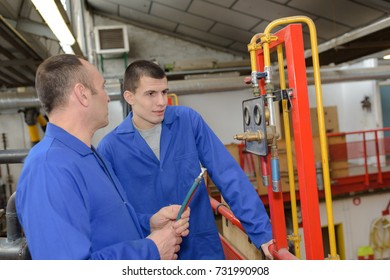 plumbers or industrial company