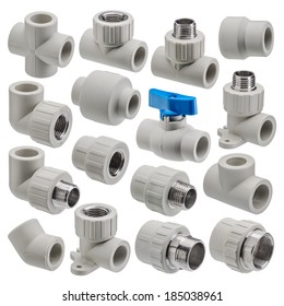 Plumbing fixtures and piping parts plastic fittings