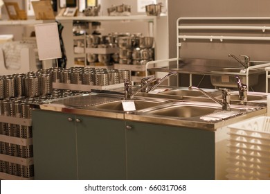 plumbing shop for sale metal shell sink kitchen