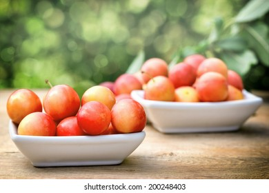 Plums - red plums