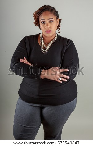 aged women bbw middle Black