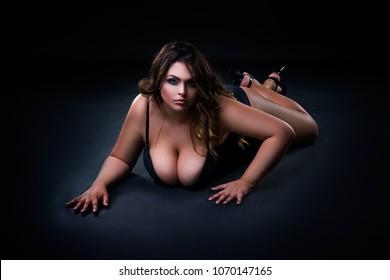 Naked girl in golf