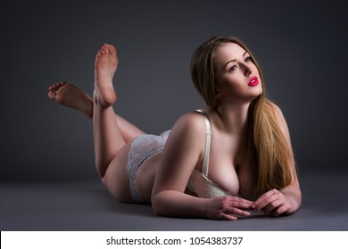 Chubby natural blonde