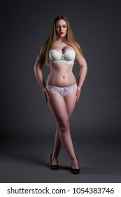 Naked Plus Size Woman Images Stock Photos Vectors Shutterstock