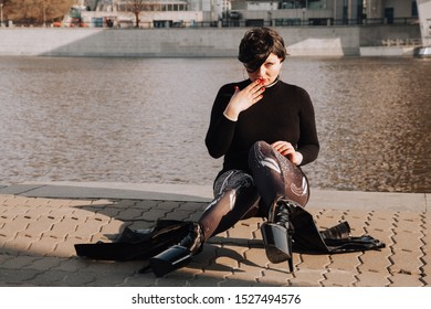 Over Knee Boots Stock Photos Images Photography Shutterstock