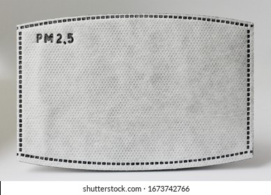 PM 2.5 Filter for prevent the air pollution and for the face mask