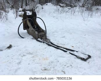 the pneumatic jackhammer, removable