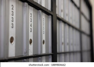 PO Box Numbers at a Post office