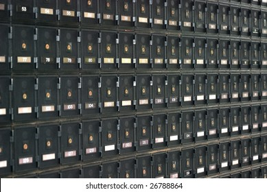 PO boxes at Australian Post Office