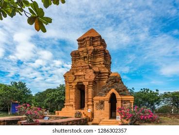Po Shanu towers in Mui Ne, Phan Tiet, Vietnam