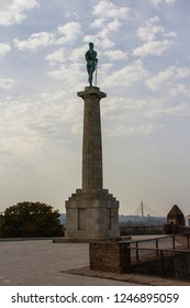 Pobednik is a monument in the Upper Town of the Belgrade Fortress, built to commemorate Serbia's victory over Ottoman and Austro-Hungarian Empire during the Balkan Wars and the First World War