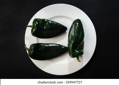 Chile Poblano Images, Stock Photos & Vectors   Shutterstock