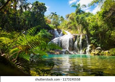 Poceta de Cristal in El Nicho National Park