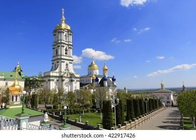 Pochayiv Lavra is a monastery in Pochayiv, Kremenets Raion, Ternopil Oblast, Ukraine - orthodox sanctuary