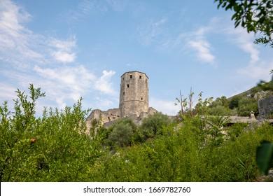 Pocitel Castle in Bosnia and Herzegovina