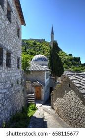 Pocitelj village in Bosnia and Herzegovina