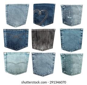 Pocket, Jeans, Denim.