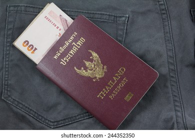 pocket money in passports for traveling