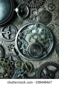 Pocket watches and gears