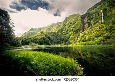 Poco da Ribeira do Ferreiro, Flores Island, Azores